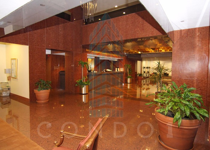 The beautiful lobby in The Atrium
