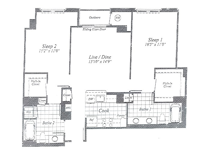 Unit C010 7th Floor Two Bedroom