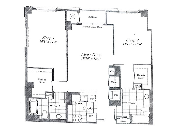 Unit C011 8th Floor Two Bedroom