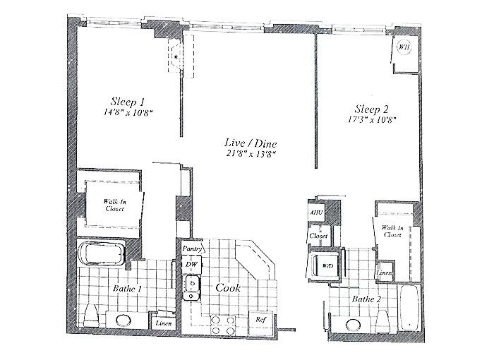 Unit C08 1st Floor Two Bedroom