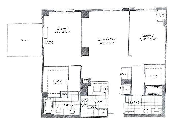 Unit C09 7th Floor 1 Two Bedroom