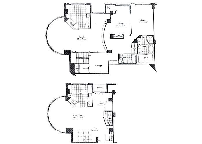 Unit C20  9th Floor Two Bedroom