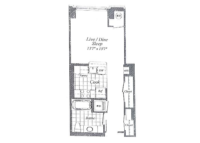 Unit E03 1st Floor Studio