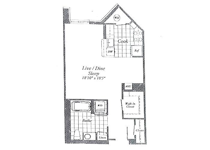 Unit E04 B1 Level Studio
