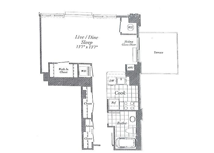 Unit E05 7th Floor Studio