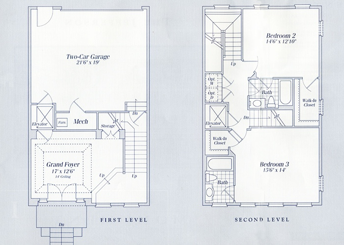 The Jefferson Level 1 and 2