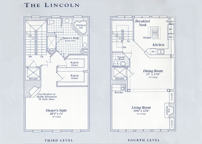 The Lincoln Levels 3 and 4
